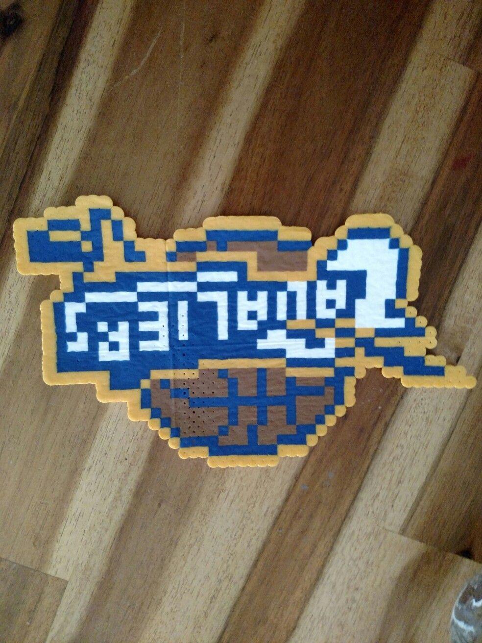 Cleveland Cavaliers perler bead | Bubbis Bead Board | Pinterest