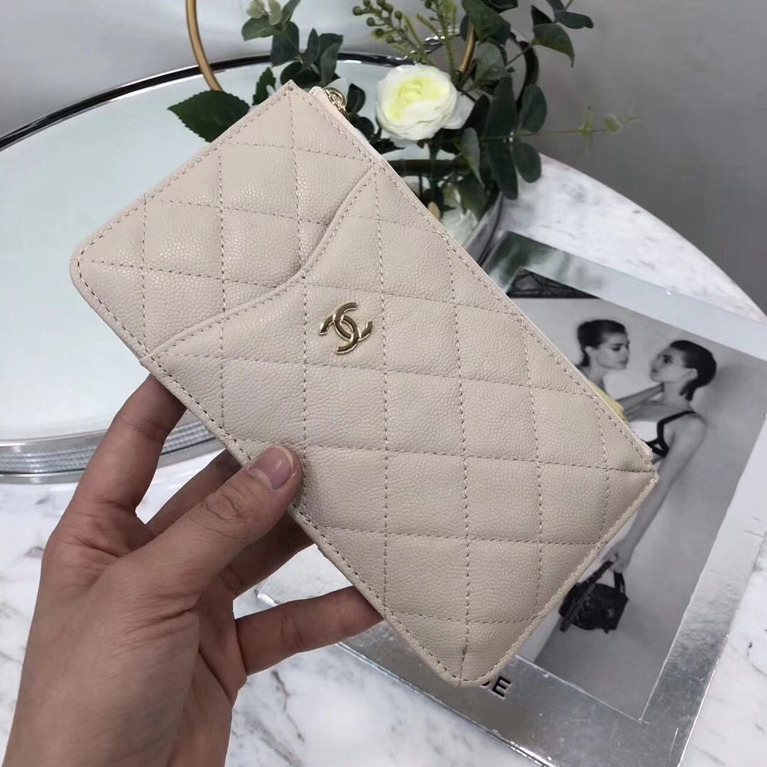 431cbd3dbaaf5b Chanel Bags on Sale: Chanel Flat Wallet Pouch Phone Holder 100% Authentic