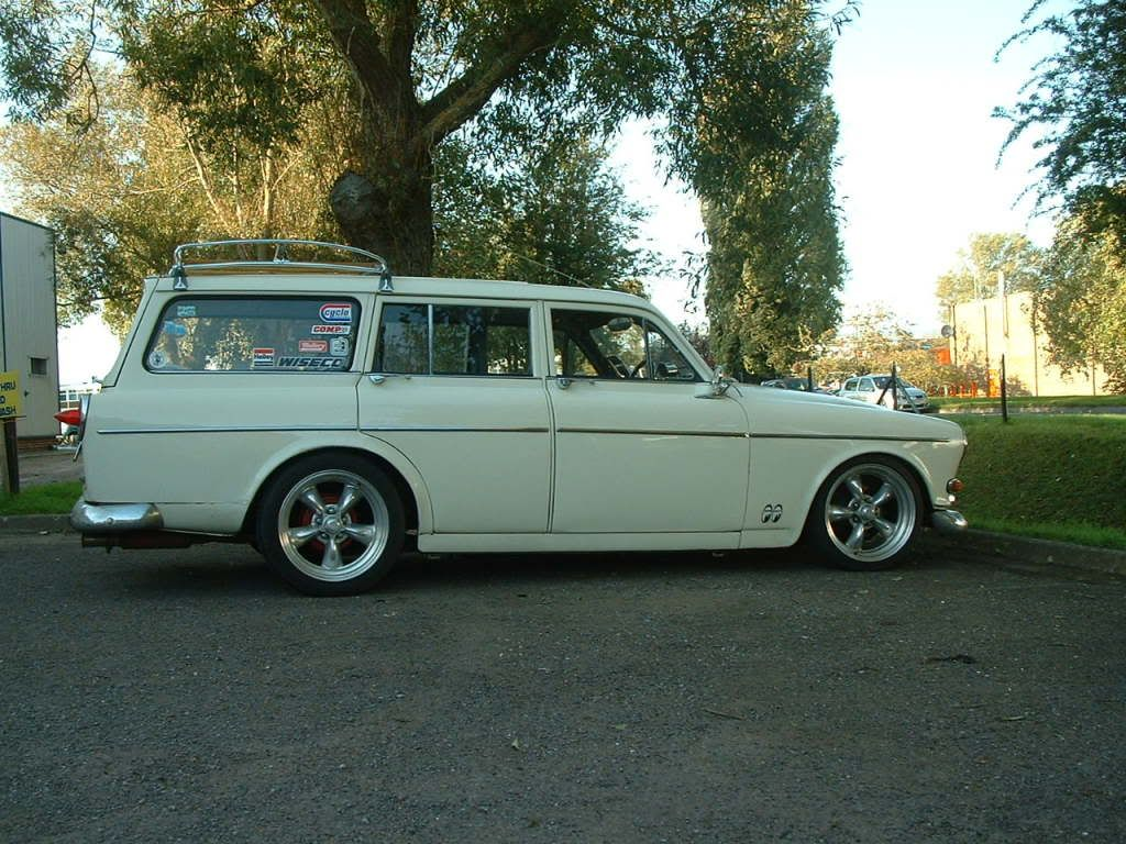 lowered | Volvo Amazon Estate Lowered on American Wheels 500x375 ...