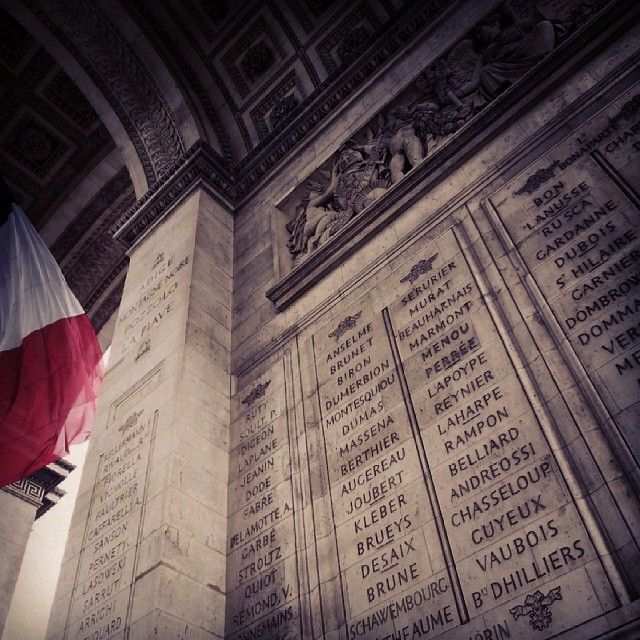 criminalfiend's photo on Instagram Arc de Triomphe!