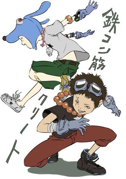 鉄コン筋クリート キャラクターデザイン 漫画アート キュートなスケッチ