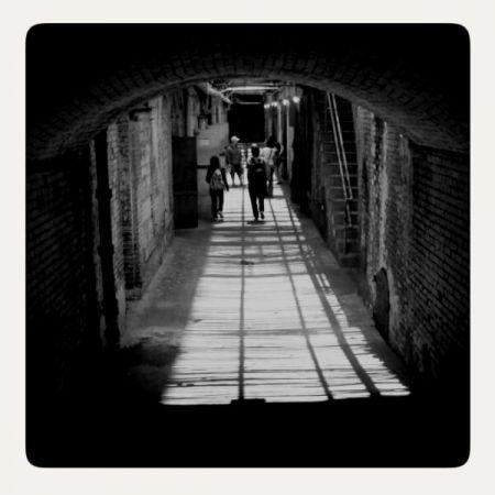 Alcatraz Hallway