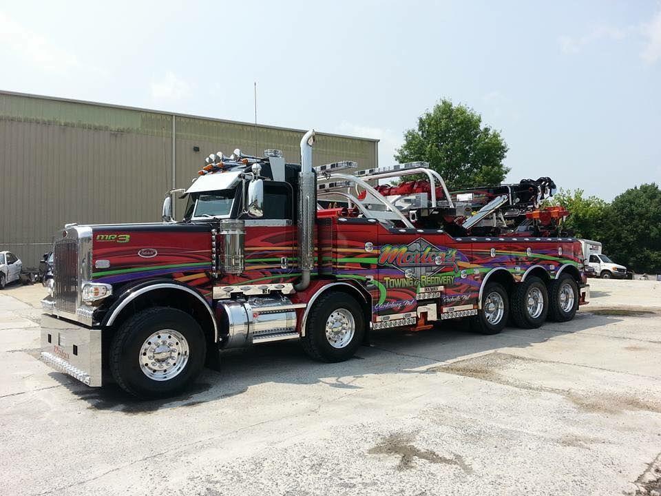 TOW - Morton\u0027s Towing  Recovery Inc Служба эвакуации rides - morton's towing