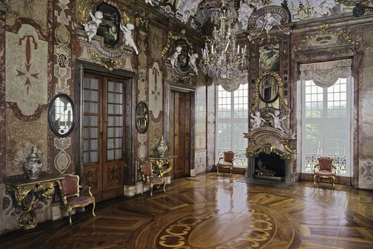 Innenarchitektur Ludwigsburg jagdpavillon des residenzschlosses ludwigsburg mit marmorsaletta
