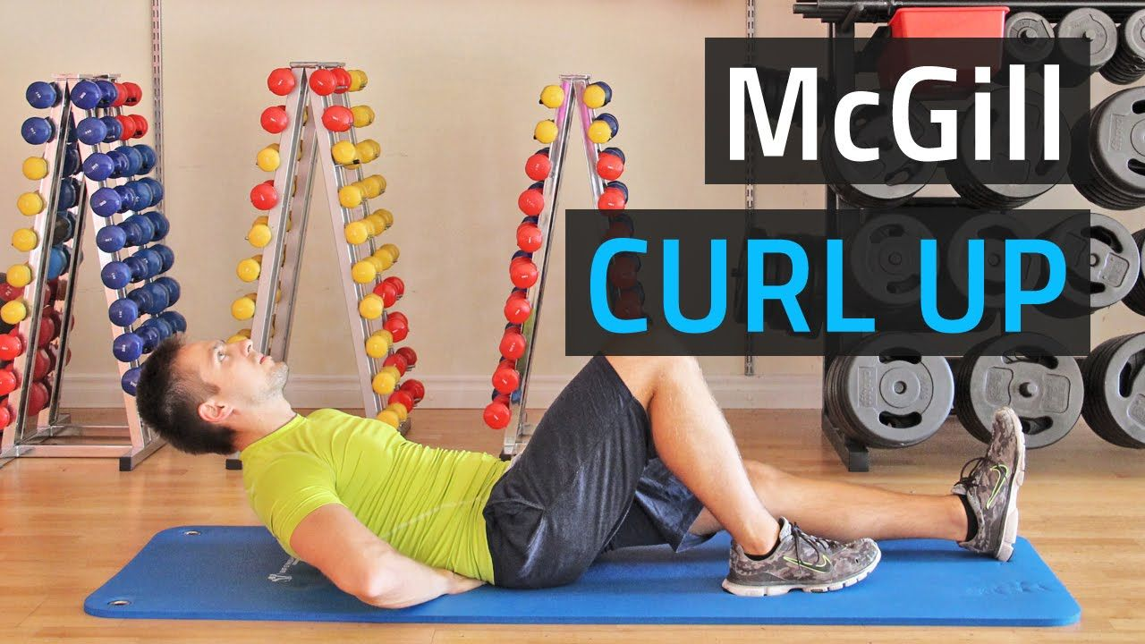 McGill Curl Up How To Do It Right Popular workouts