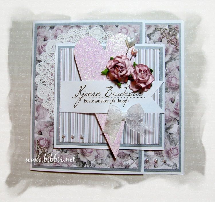 Bibbi's: Bryllupskort