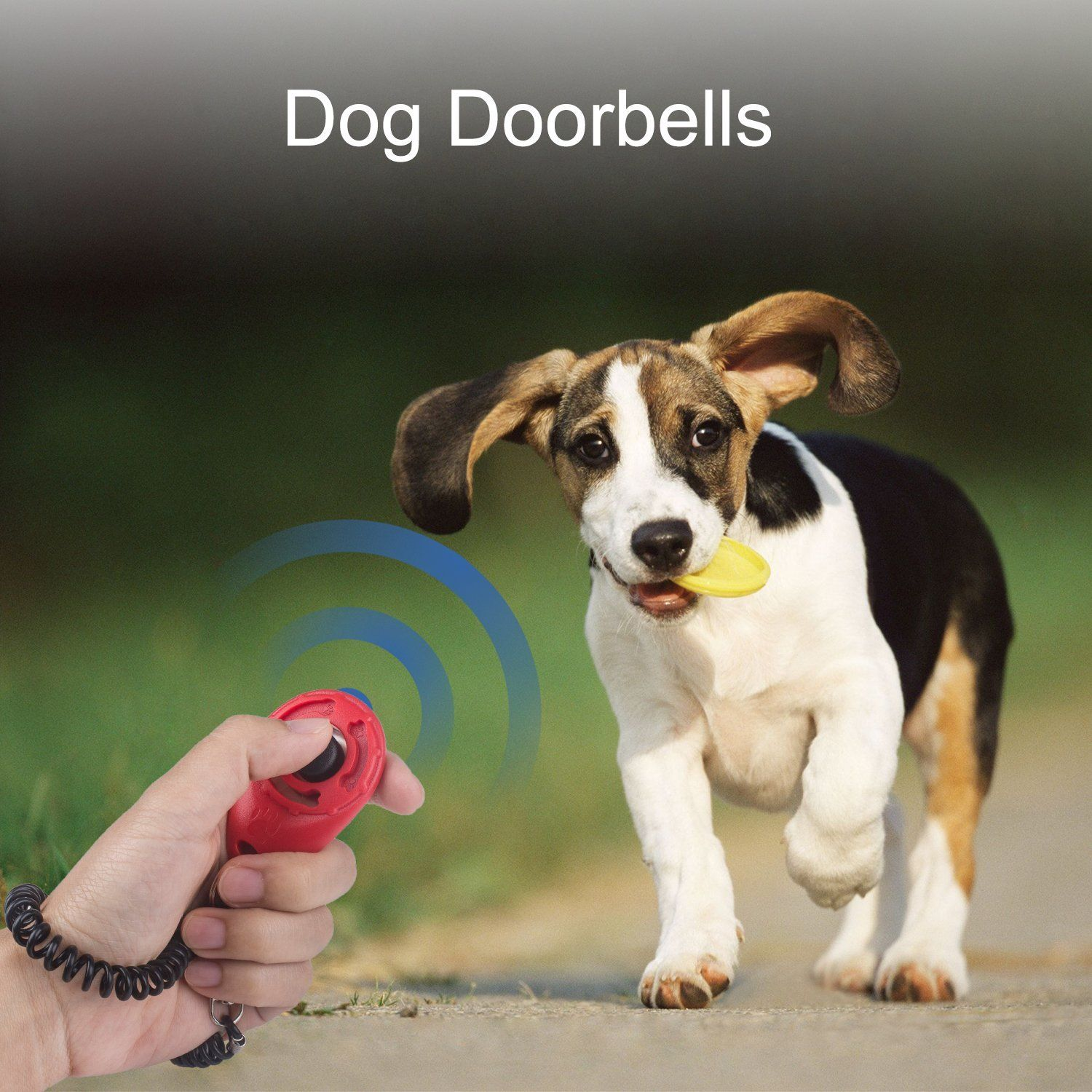 Beinhome Dog Training Bells For Door Set Of 2 Adjustable Puppy