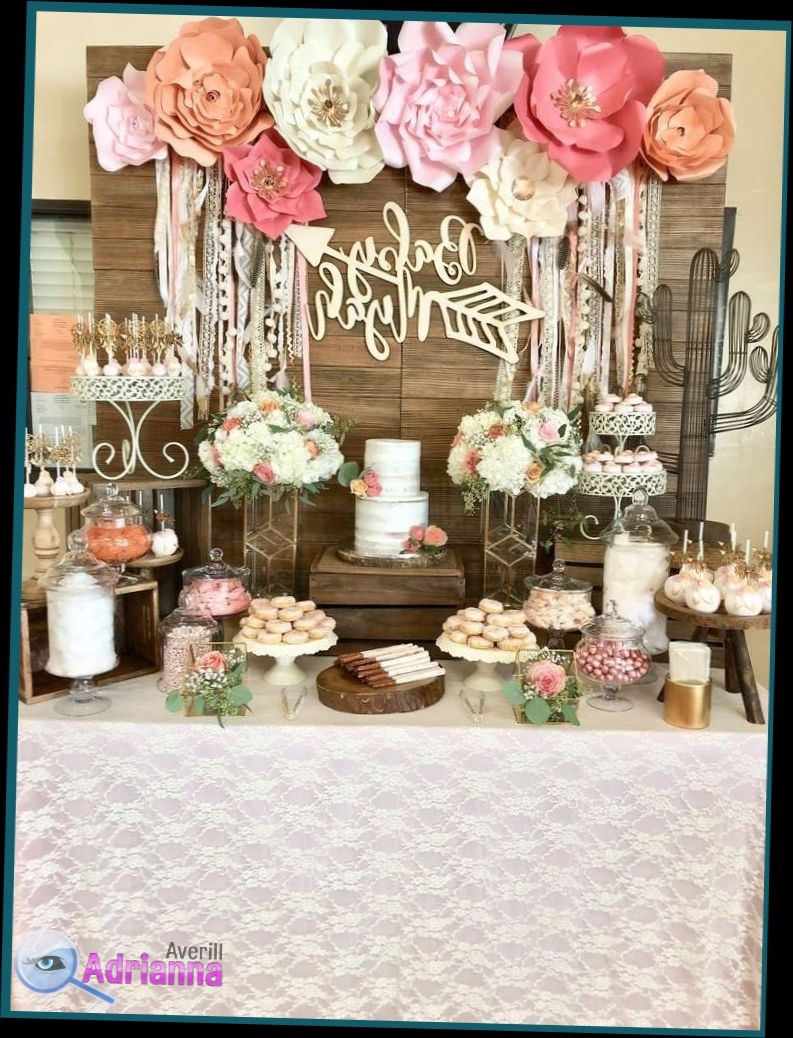 Flower Decoration For Birthday Party At Home Decoration For Birthday Party At Home Concept Idea E Boho Baby Shower Bohemian Baby Shower Creative Baby Shower