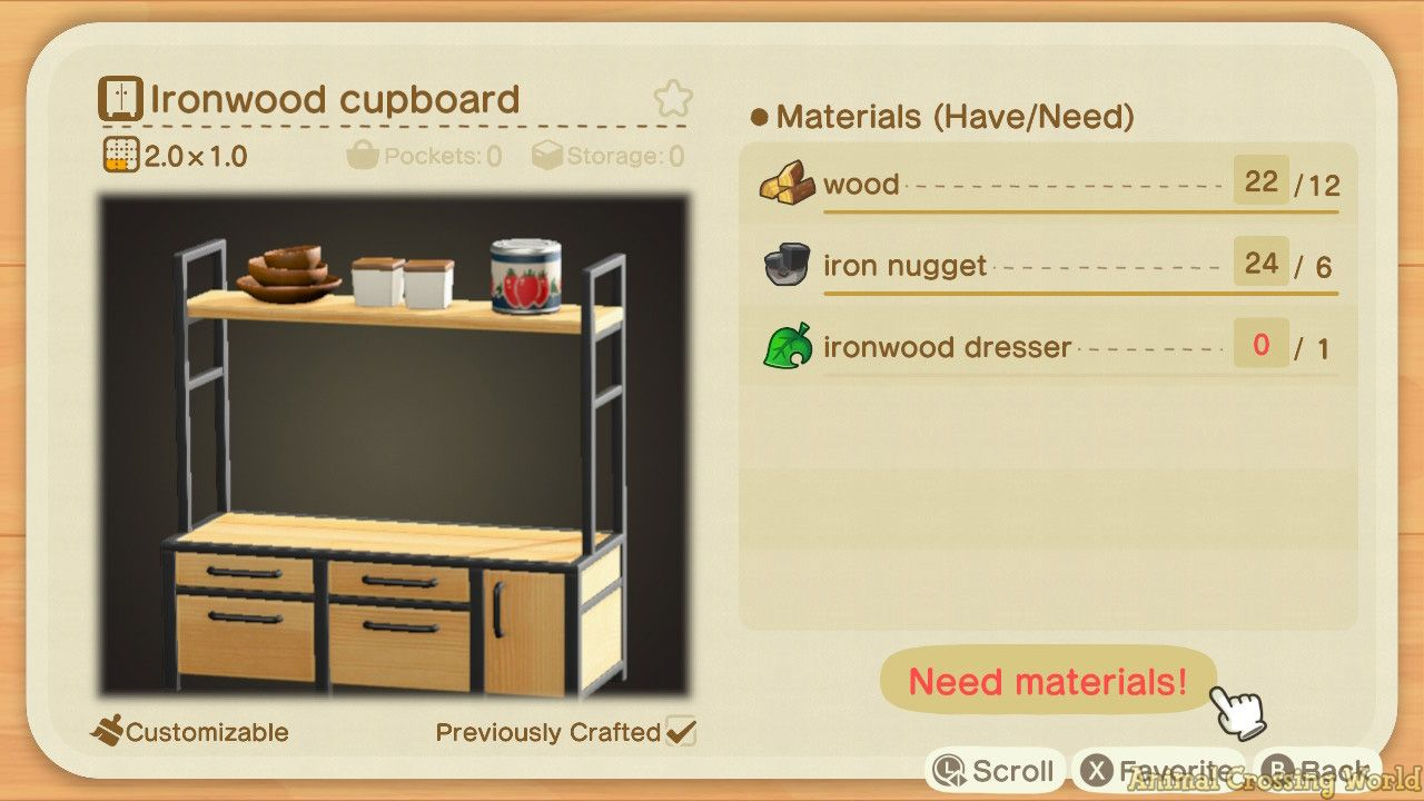 Ironwood Furniture Set How To Craft Get All Items Variations In Animal Crossing New Horizons Animal Crossing New Animal Crossing Animal Crossing Qr