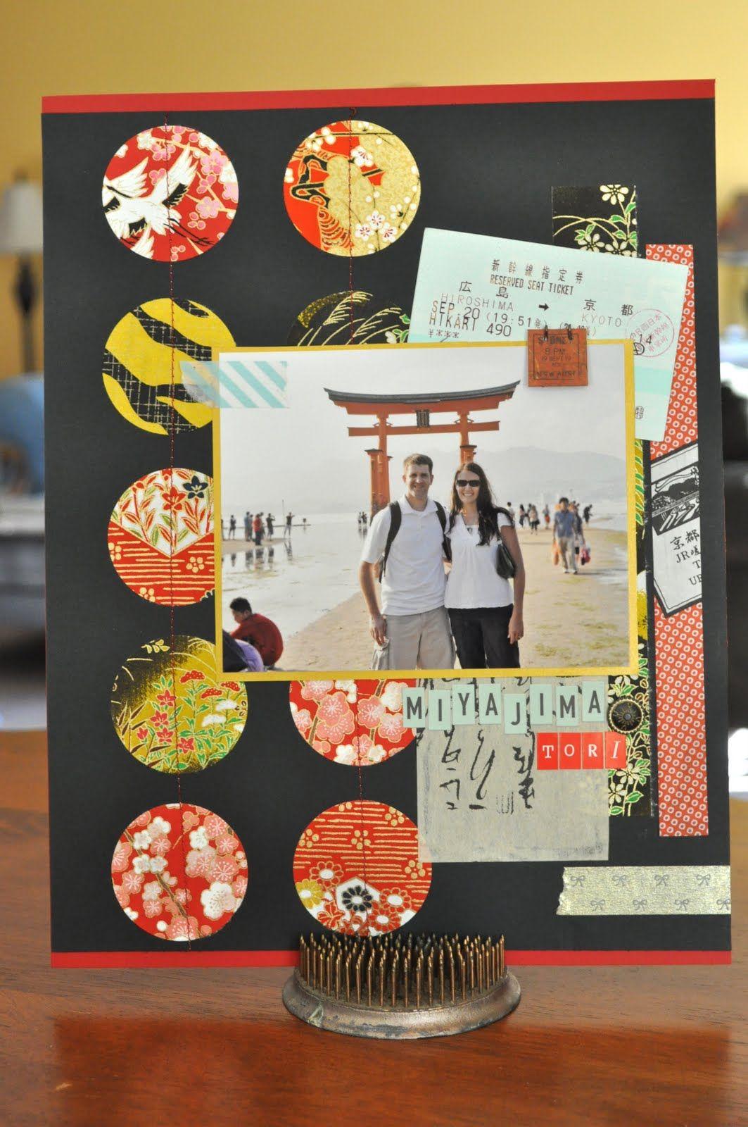 japan scrapbook layouts Google Search Japanese paper