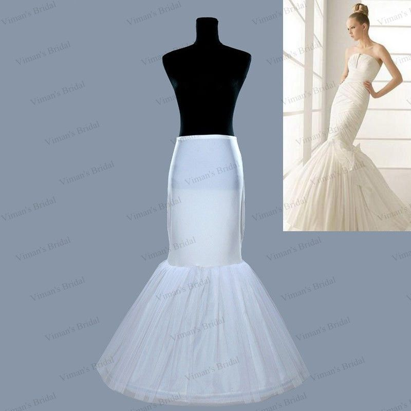 >> Click to Buy << Actual Image Mermaid Petticoat Wedding Accessories Ball Gown Crinoline Petticoats for Mermaid Wedding Gowns PE01 #Affiliate