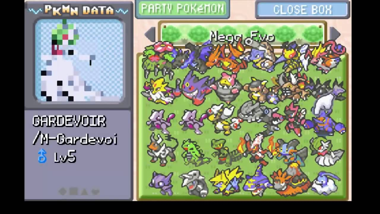 🎉 Pokemon super fire red mega evolve in battle download