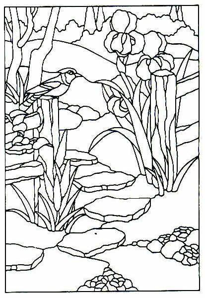 Resultado de imagen para patrones para pintar vitral | diseños ...