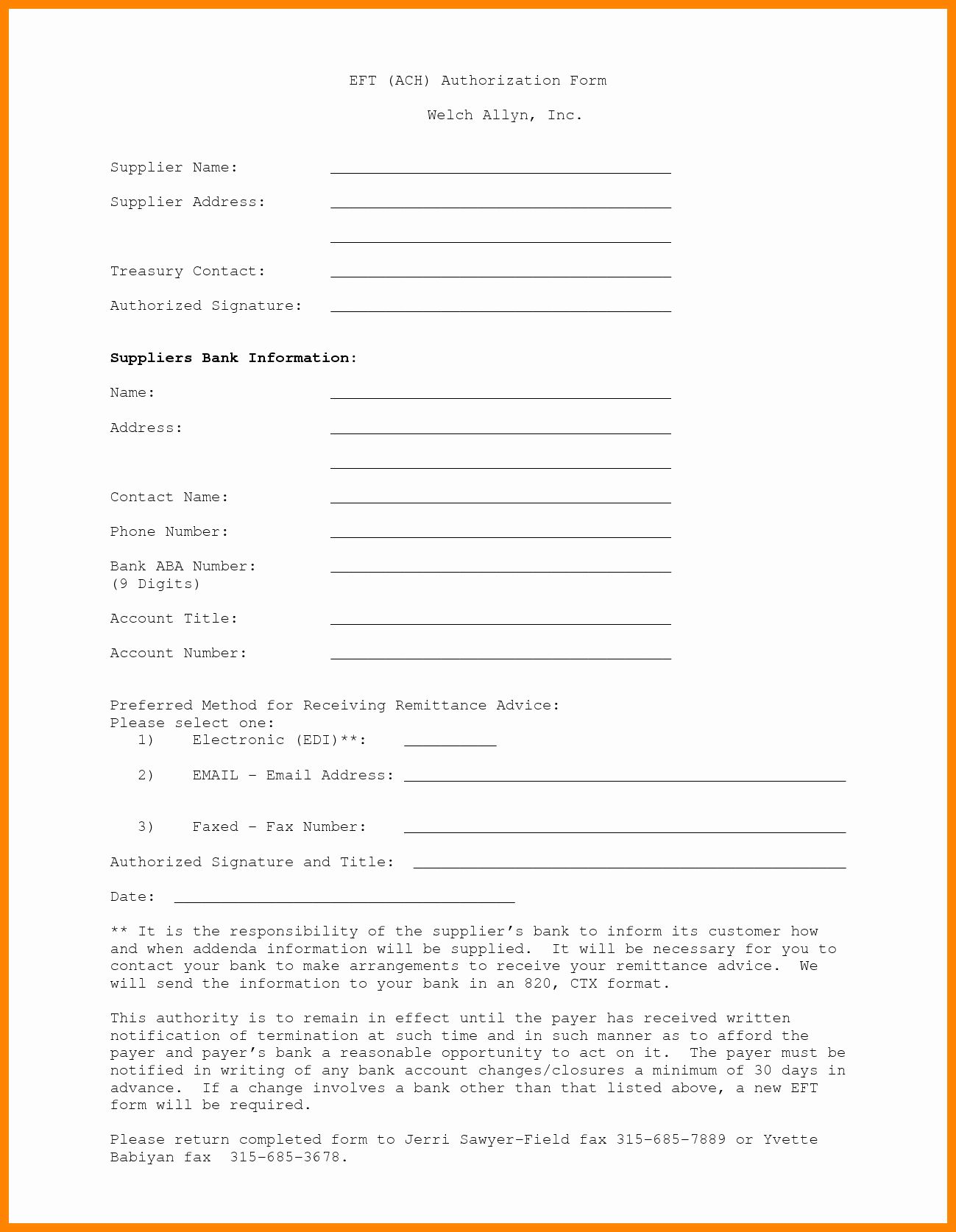 Elegant Payment Authorization Form Template In 2020 Printable