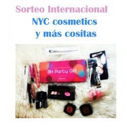 Sorteo Internacional NYC cosmetics y más cositas ^_^ http://www.pintalabios.info/es/sorteos-de-youtube/view/es/107 #Internacional #Sorteo #Maquillaje