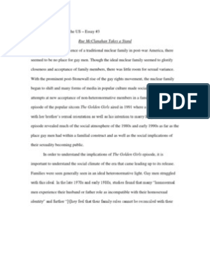 Sexuality Essay Linguistic Cultural Assimilation Word Doc On