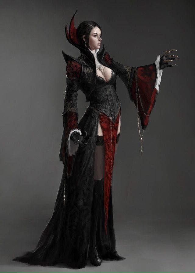 Image result for vampire noble | Vampire art, Female ...