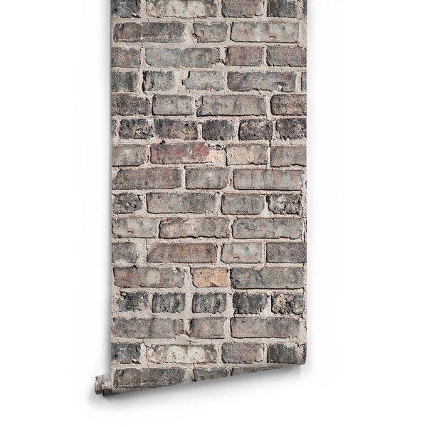 Sample Vintage Bricks Boutique Faux Wallpaper design by Milton ...