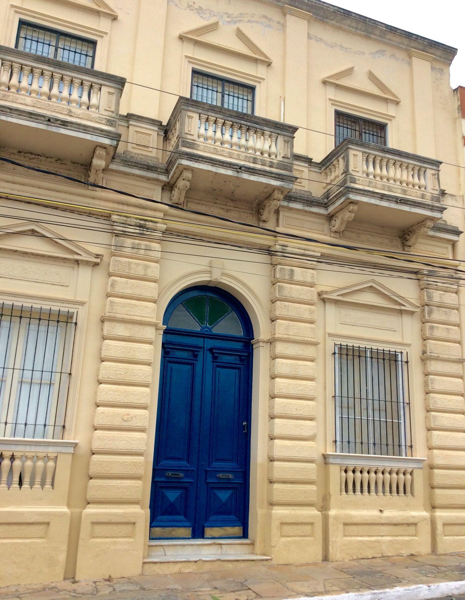 Fachada antigua .Asunción-Paraguay