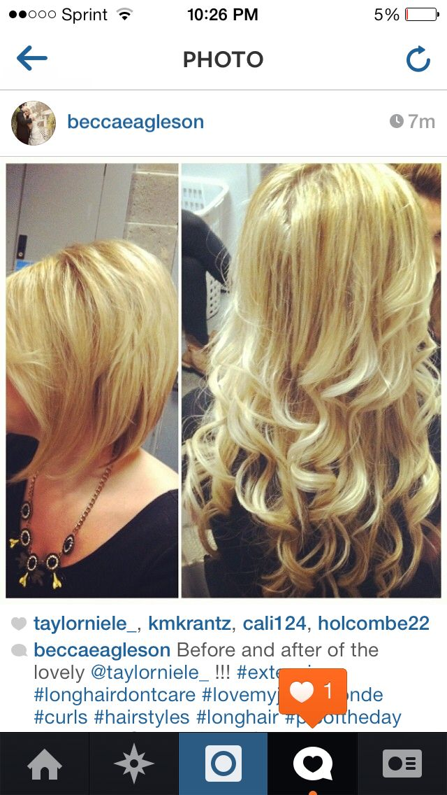 My Before After Hair Extensions Tape In Hair Extensions