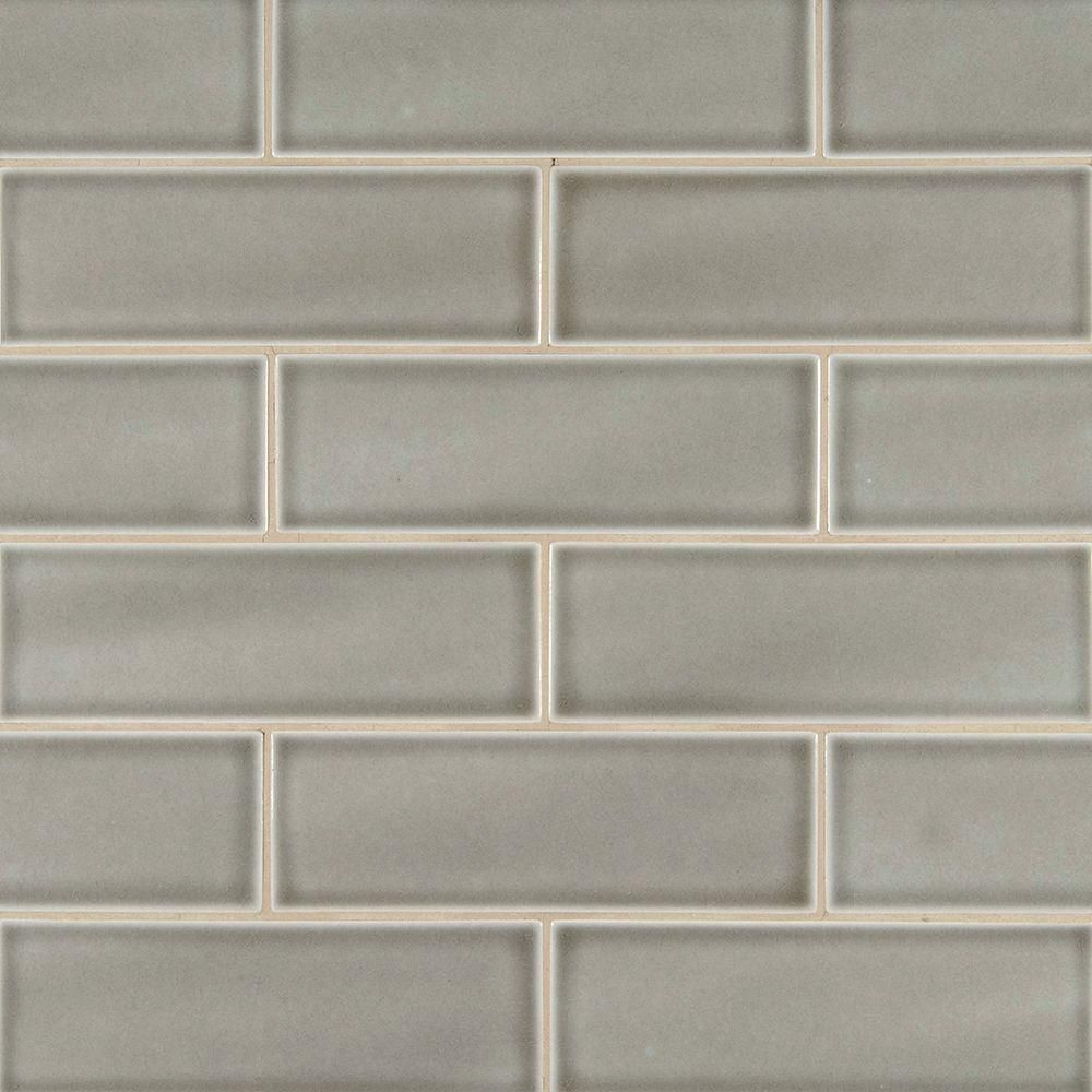 Ms international dove gray 4 in x 12 in handcrafted glazed ms international dove gray 4 in x 12 in handcrafted glazed ceramic wall tile dailygadgetfo Choice Image
