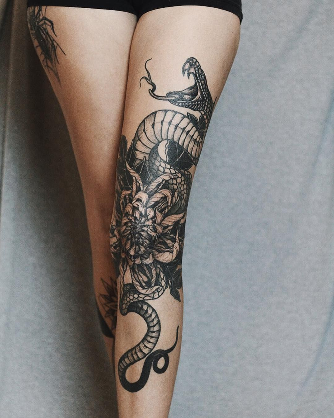 35 Amazing Rattlesnake Tattoo Designs Ideas // March, 2020