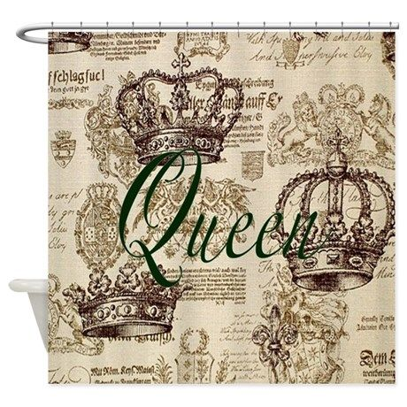 Queen Shower Curtain By Thrylos2000 With Images Shower Curtain Fabric Shower Curtains Curtains