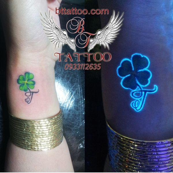 lucky grass tattoo by www.bttattoo.com