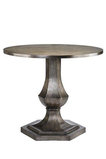 Round Pedestal Table Hexagonal Post And Base Versatile