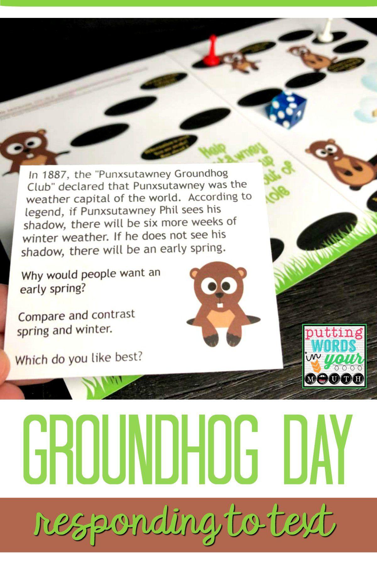 Groundhog Day Listening Amp Reading Comprehension Passages