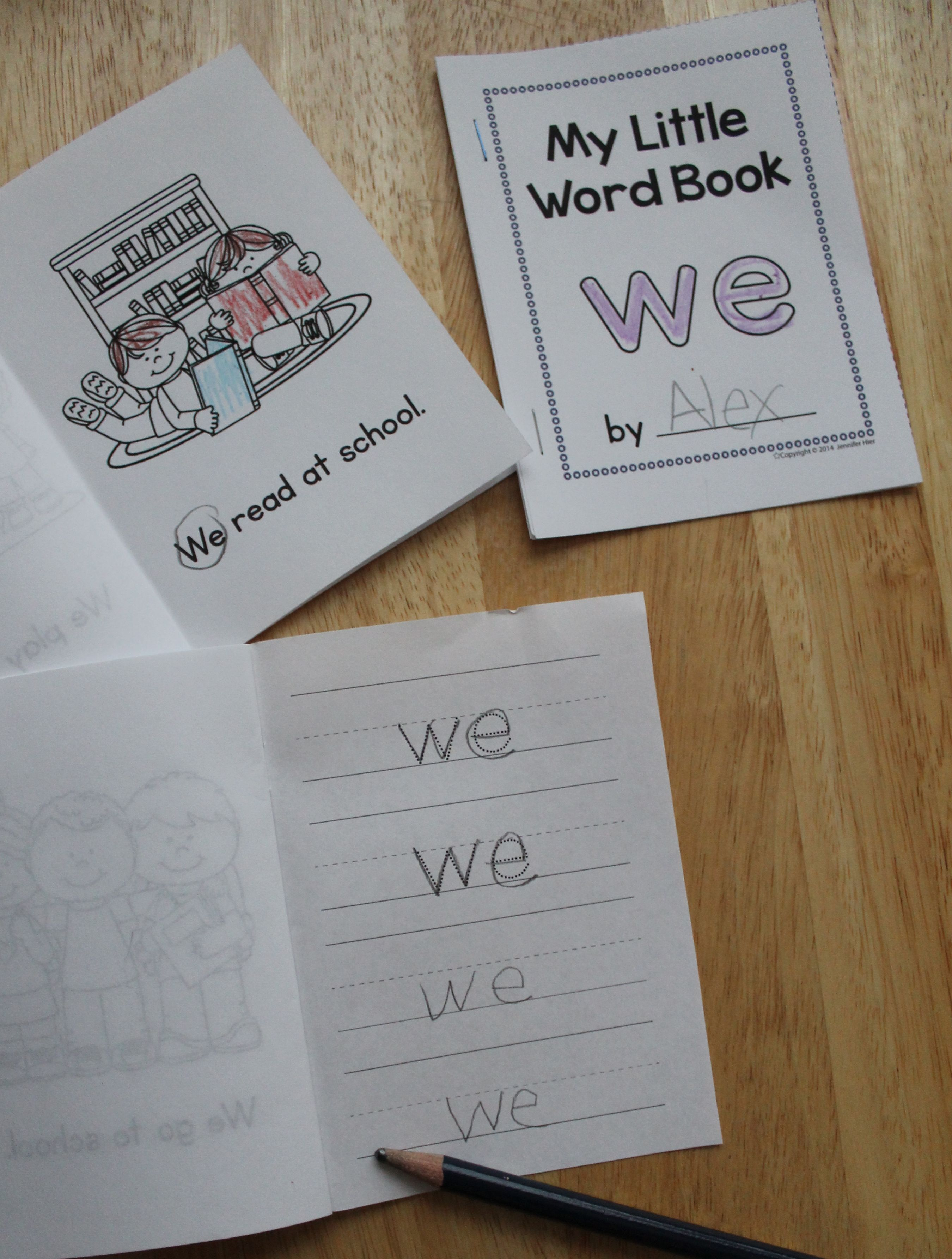 Sight word activities - color, identify, read in context, trace and ...