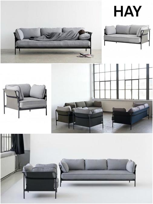 Hay Can Sofa 3 Sitzer Lounge Mobel Wohnen Haus