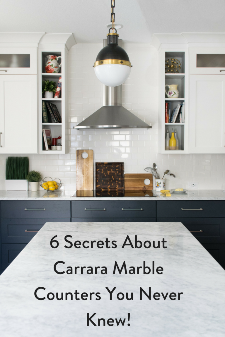 6 Secrets About Carrara Marble Counters You Never Knew New Kitchen