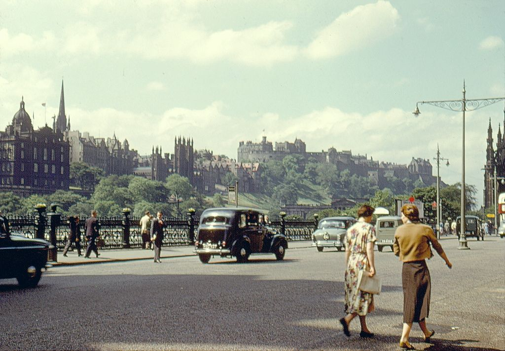 Image result for LIFE IN SCOTLAND IN THE 1950S