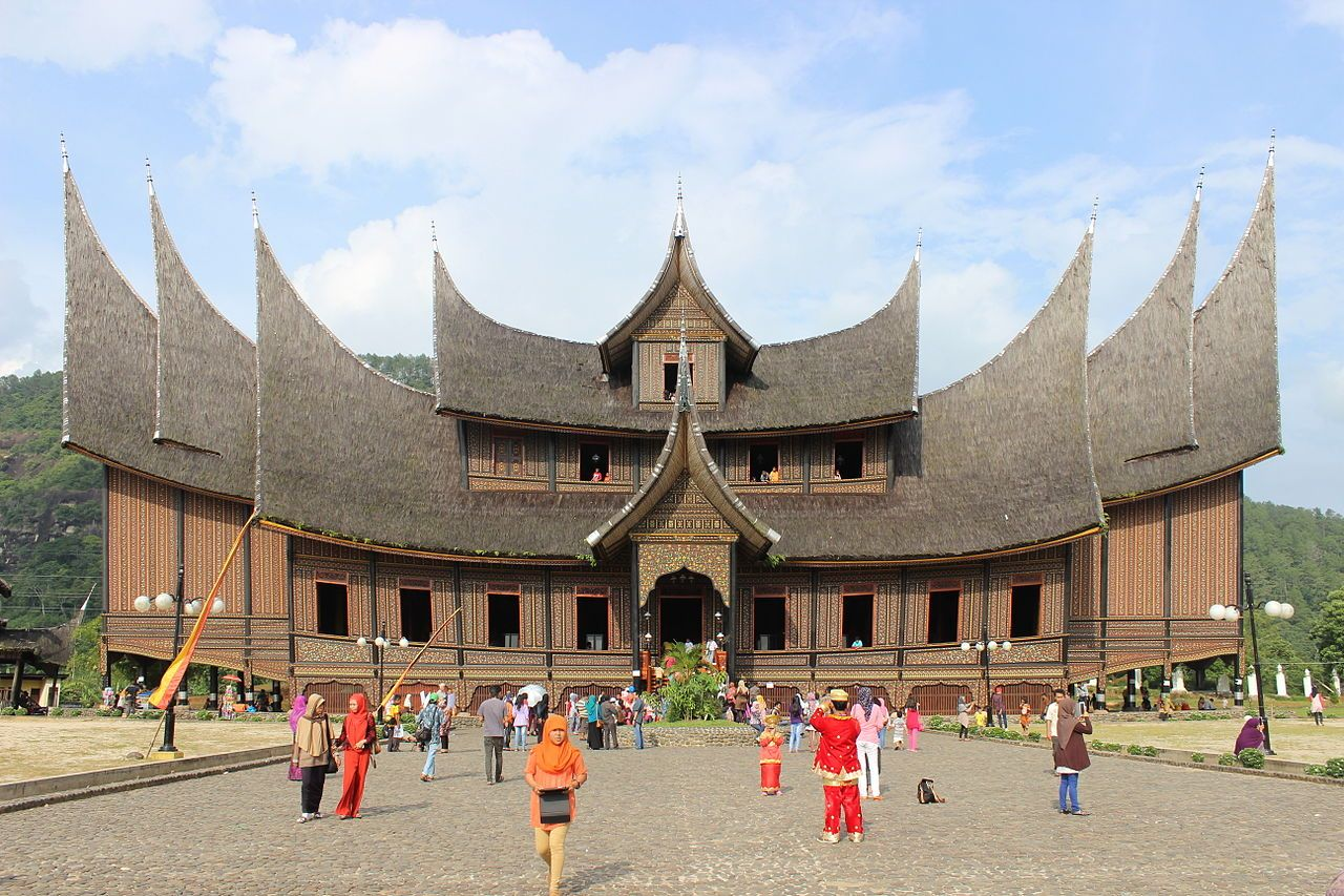 Nice New Pagaruyung Palace   History Of Architecture   Wikipedia, The Free  Encyclopedia