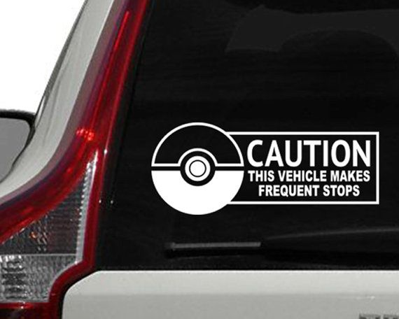 Pokemon Window Decal Pokemon Go Inspired Car By KennaSatoDesigns - Car decals and bumper stickers