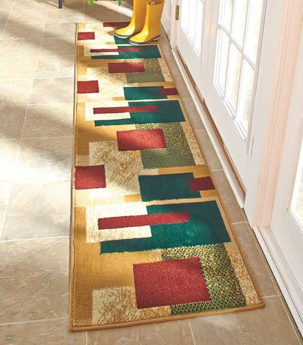 extra long runner rug carpet entryway hallway home accent decor new