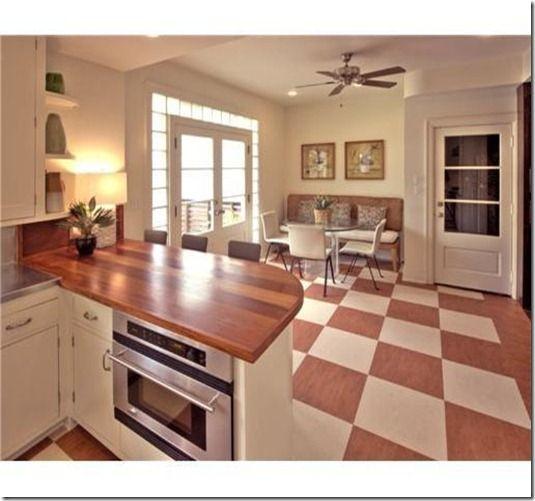 Cool Art Deco Kitchen Cabinets: Modern Streamline Moderne Kitchen #artdeco