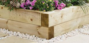 Wickes Garden Sleepers  Light Green 100 x 150mm x 1 8m is part of garden Lighting Sleepers - Highquality garden sleeper which is pressure treated for longer life and to help resist rot  Produced from quality Baltic pine  Easier to handle smaller size
