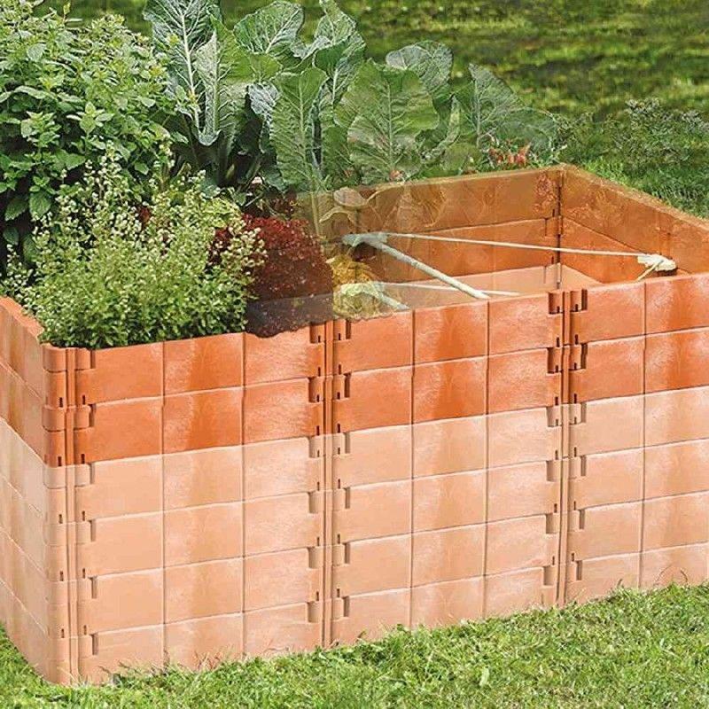 Juwel Module Dextension Pour Jardin Sureleve Taille 2 Profiline Terre Cuite In 2020 Garden Wood