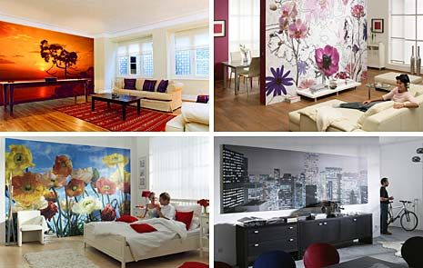 Design Home Decor More Appealing Using Wall Murals Home Design