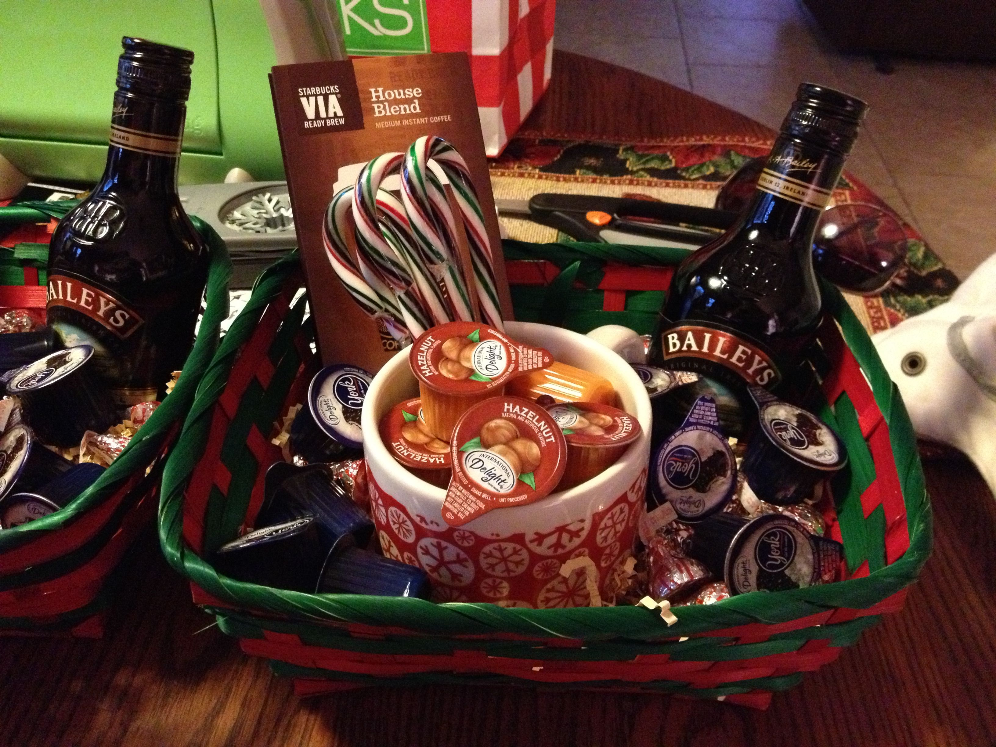 Coffee Gift Basket-given To Physicians For Christmas Gifts