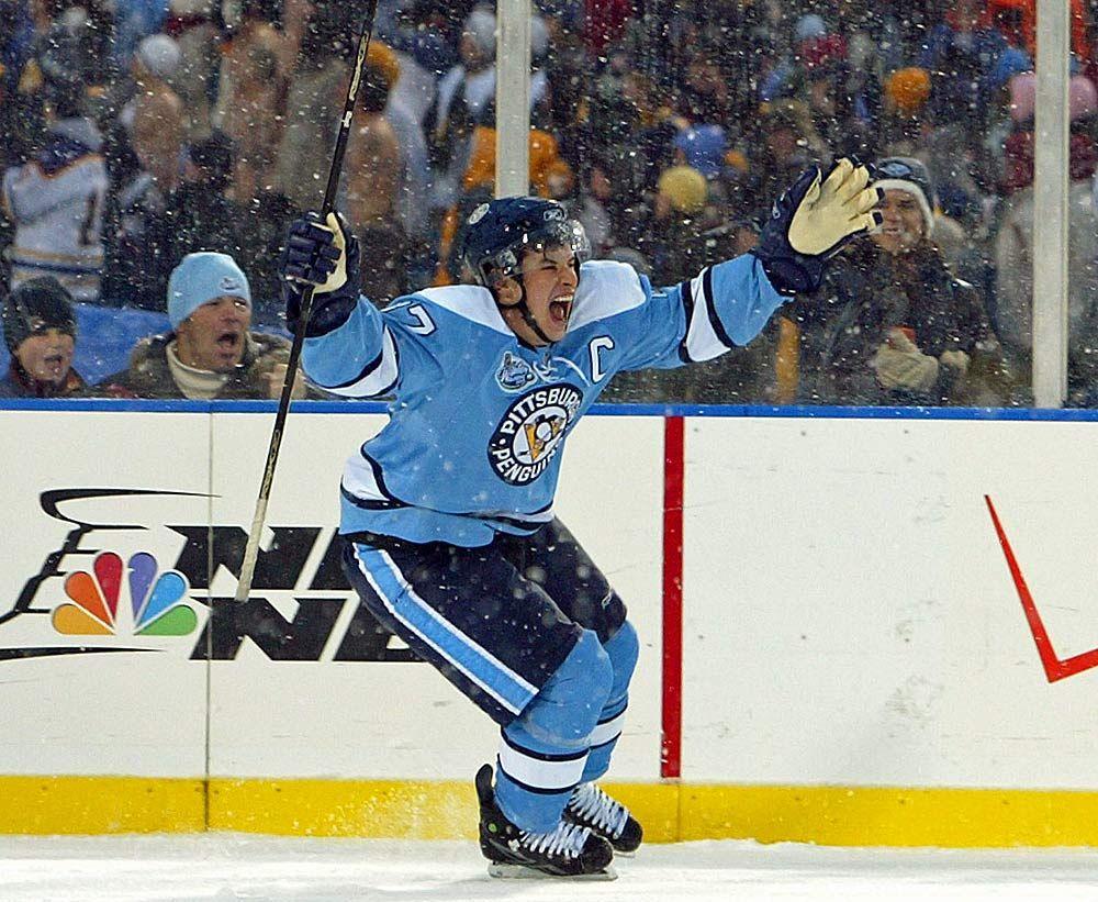 captain crosby | Nhl winter classic, Funny hockey memes, Crosby penguins