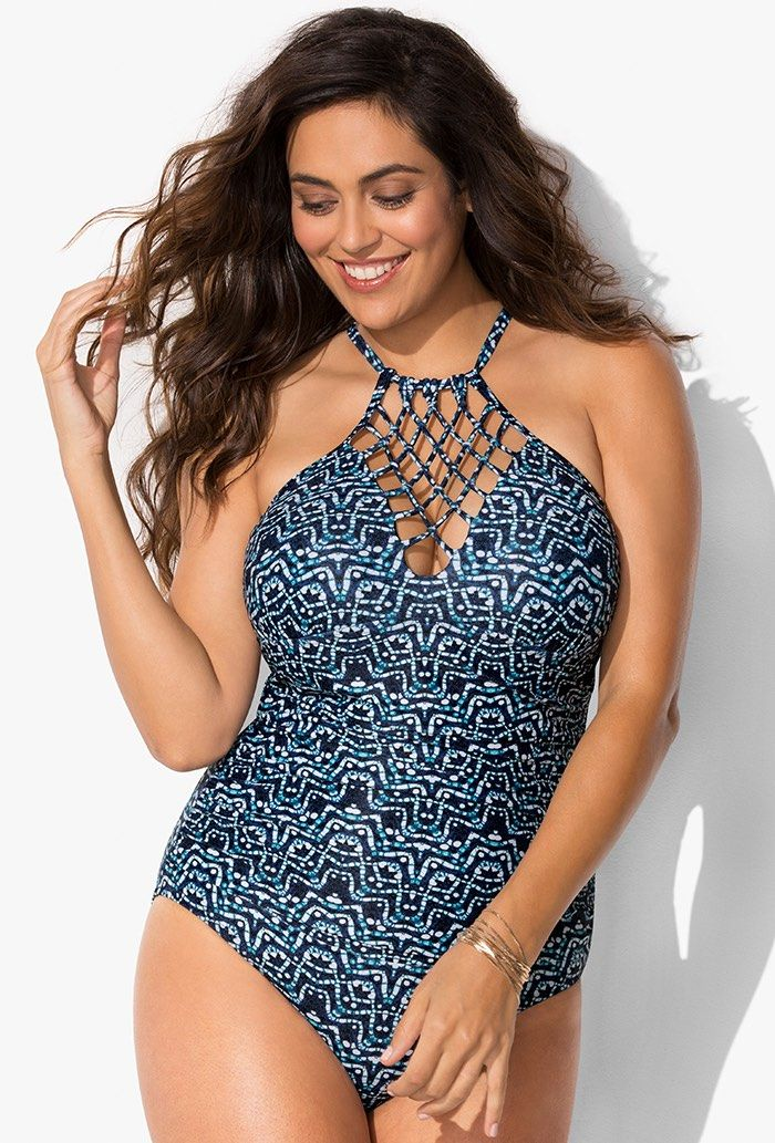 5de641f88453b Buy Atlantis Macrame Swimsuit at SwimSuitsForAll.com. Easy returns and  exchanges. Check out our special swimsuit sale of the day!