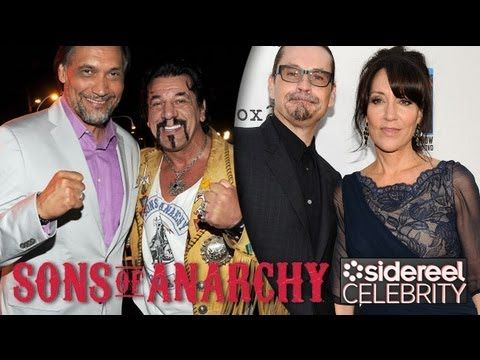 Katey Sagal Chuck Zito More Of The Sons Of Anarchy Cast On Season 5 At The Premiere Sons Of Anarchy Cast Sons Of Anarchy Katey Sagal