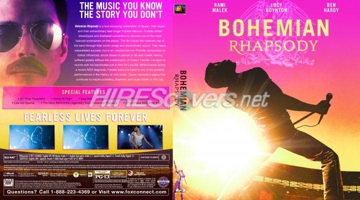 Bohemian Rhapsody Custom Blu-ray Cover | 2010's Films in ...