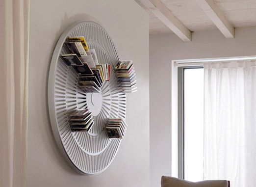 Itu0027s strange now when the CD is almost dead all these cool storage solutions for the plastic disc starts popping up. Take a look at these 12 Creative CD ... & 12 Creative CD Holder Ideas | Pinterest | Cd holder Storage ideas ...