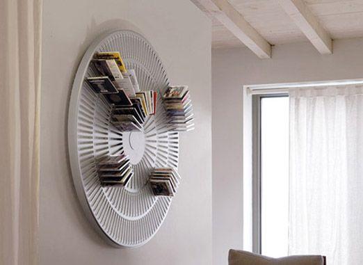 12 creative cd holder ideas cd holder storage and cd storage. Black Bedroom Furniture Sets. Home Design Ideas