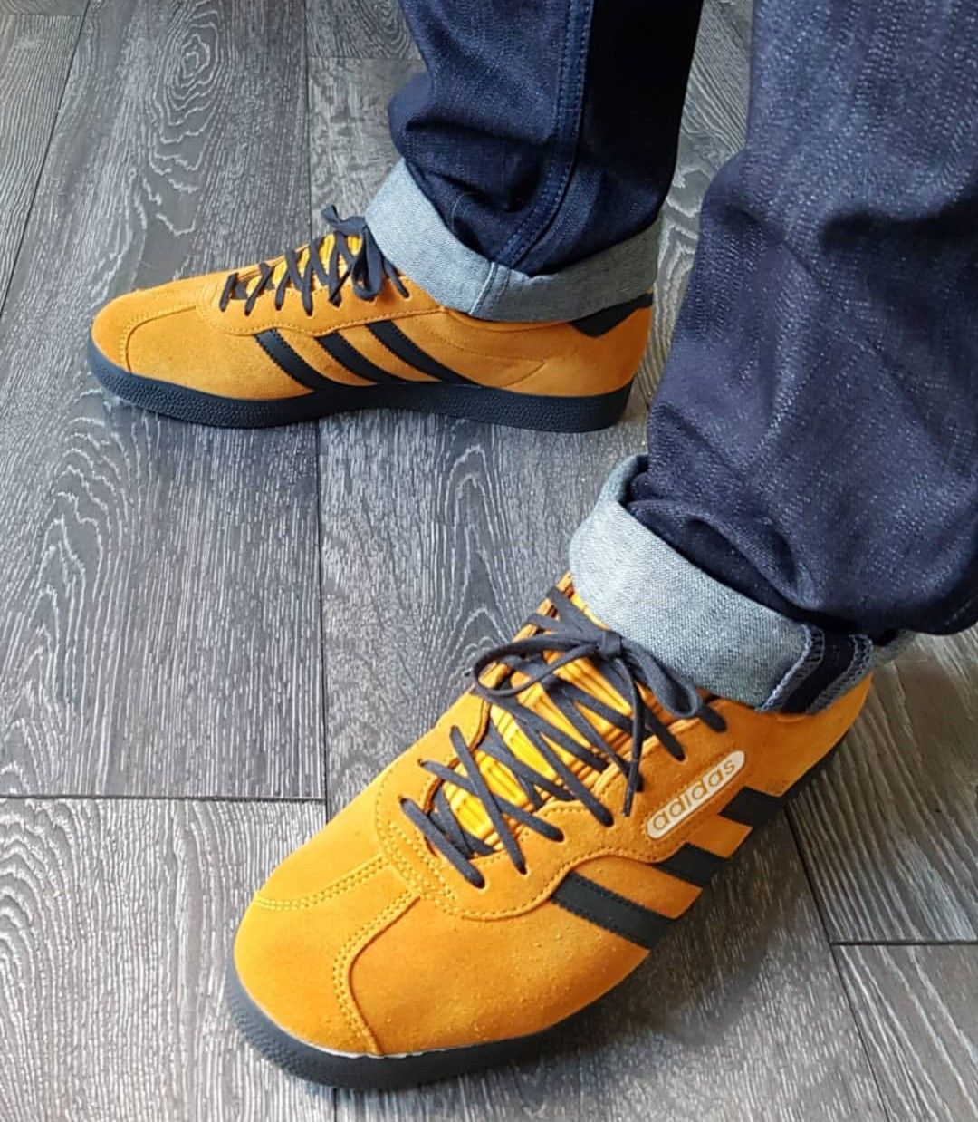ab13973c0a8c Gazelle Supers on feet on the street Adidas Og