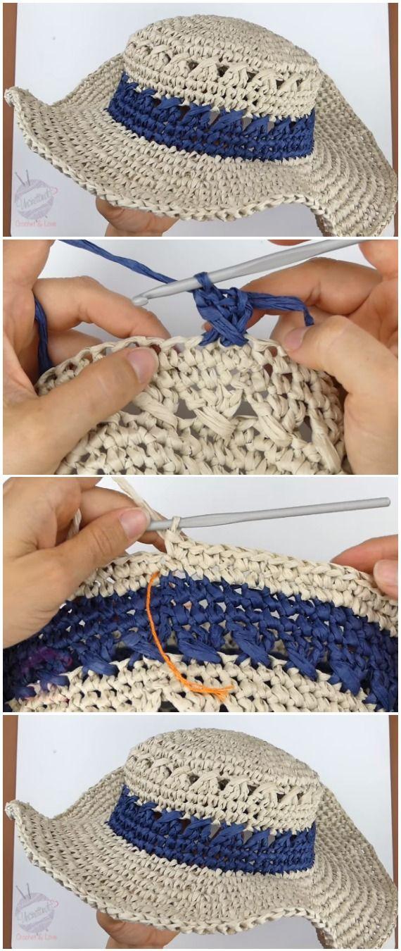Crochet Easy Sea Hat #crochethats
